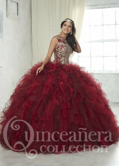 Quinceanera Gown House of Wu style 26835