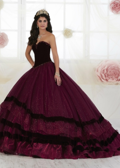 Quinceanera Gown House of Wu style 26907