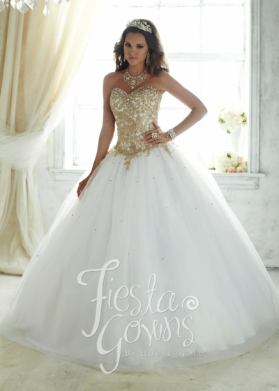 Quinceanera Gown House of Wu style 56286