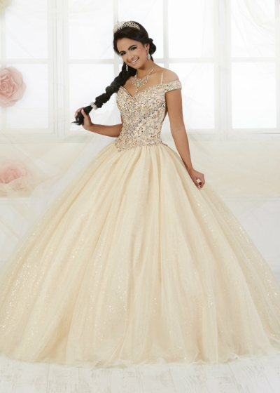 Quinceanera Gown House of Wu style 56360