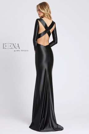 Ieena by Mac Duggal Gown with crisscross back style 26169i